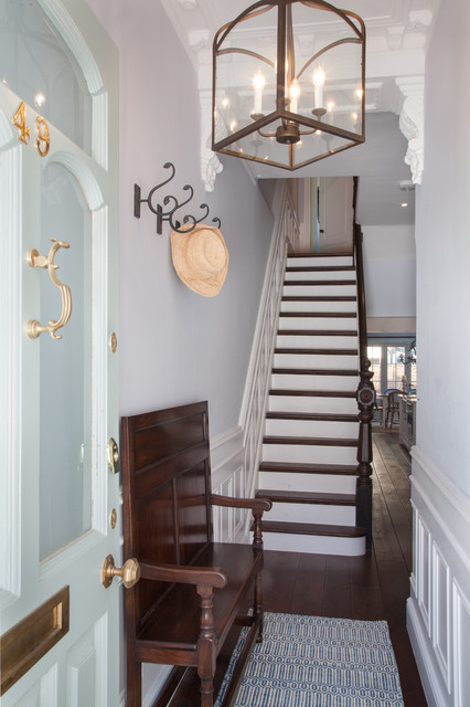 Foyer Ideas For Townhouse : London townhouse
