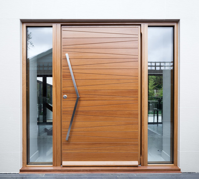 Urban Front Milano Iroko Contemporary Entry