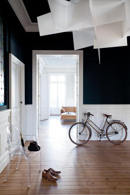 Appartement de type haussmannien contemporain entr e for Appartement haussmannien bordeaux