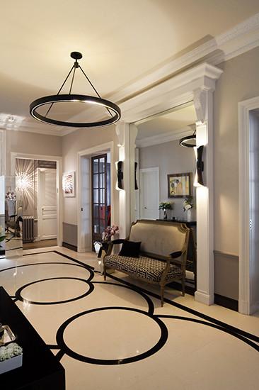 appartement haussmannien revisit. Black Bedroom Furniture Sets. Home Design Ideas