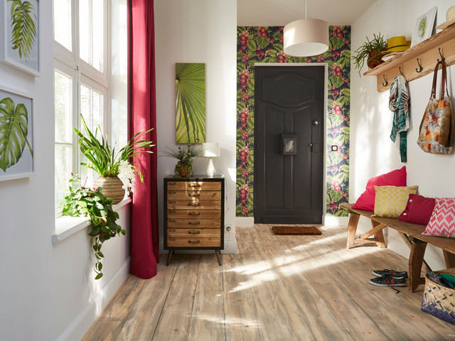entr e tropicale tropical entry lille by castorama. Black Bedroom Furniture Sets. Home Design Ideas