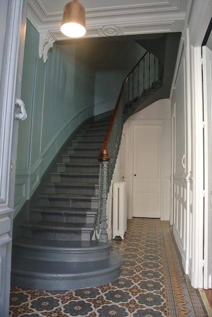 Grande maison bourgeoise Bordeaux : avant/aprés