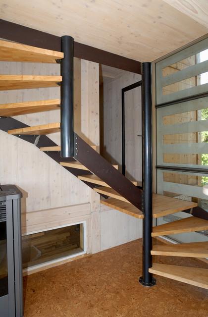 maison cologique de jos bov contemporain entr e toulouse par patrick ballester co. Black Bedroom Furniture Sets. Home Design Ideas
