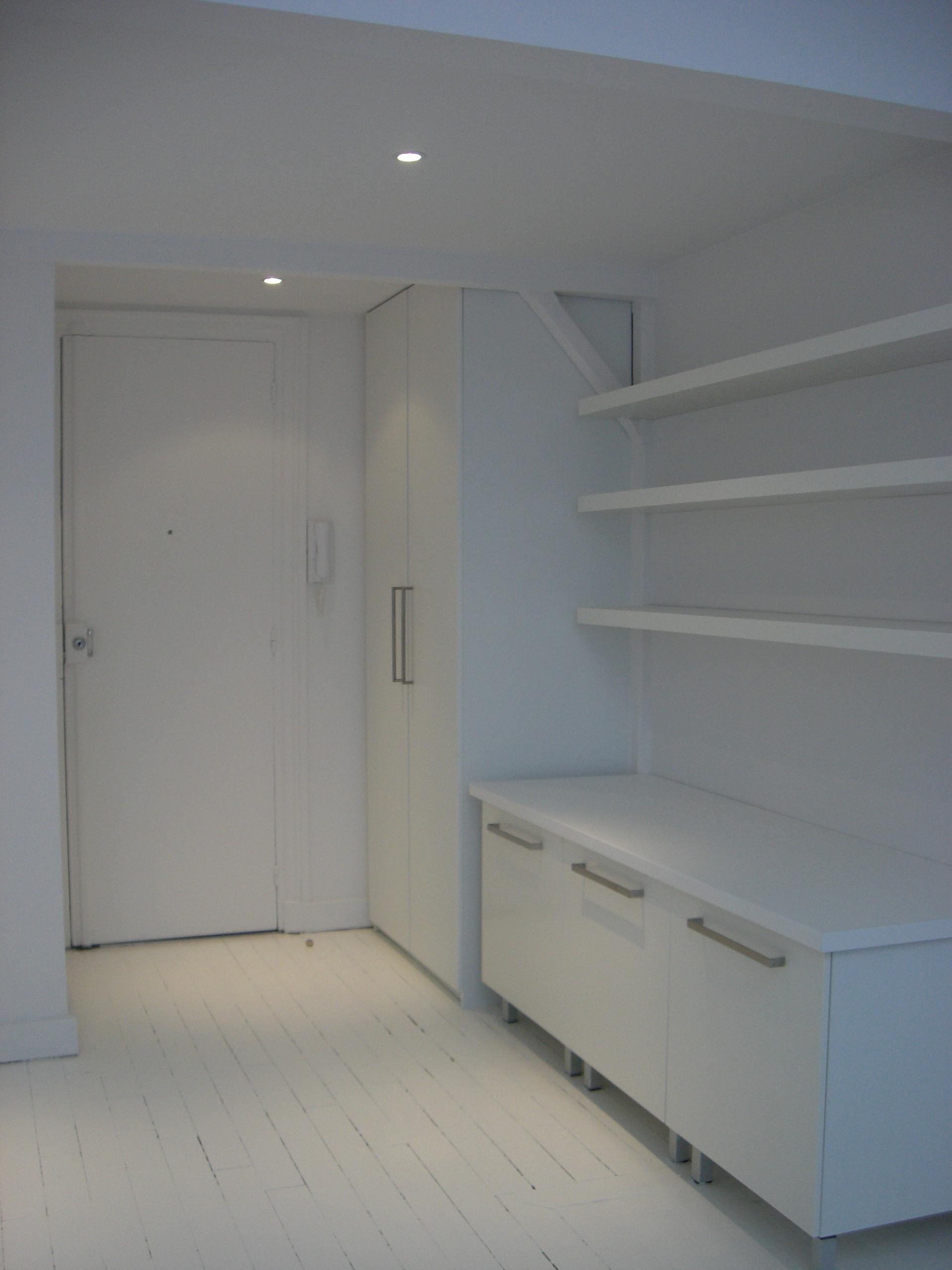 Optimisation de l'espace dans un atelier d'artiste