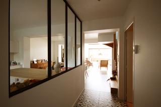 r novation maison de ville rennes contemporain entr e rennes par delphine le fur. Black Bedroom Furniture Sets. Home Design Ideas