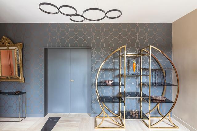 Transformer une entrée d\'une maison à Pau - Contemporain - Entrée ...