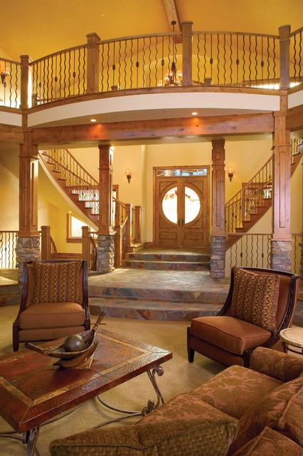 Home Saint Louis Foyer Unme : S eclectic entry st louis by house plans