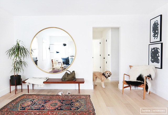 Inspiration for a scandinavian entryway remodel in Los Angeles
