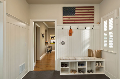 Shoe cubby/bench - Houzz
