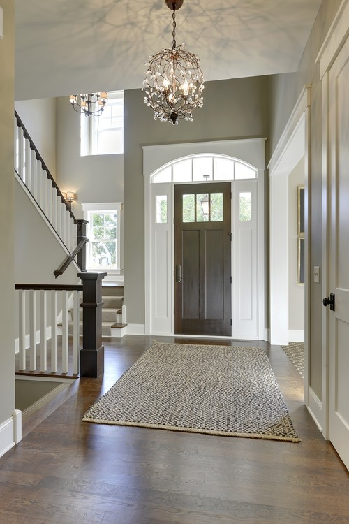 Front Foyer Lighting Design Ideas : Exterior doors