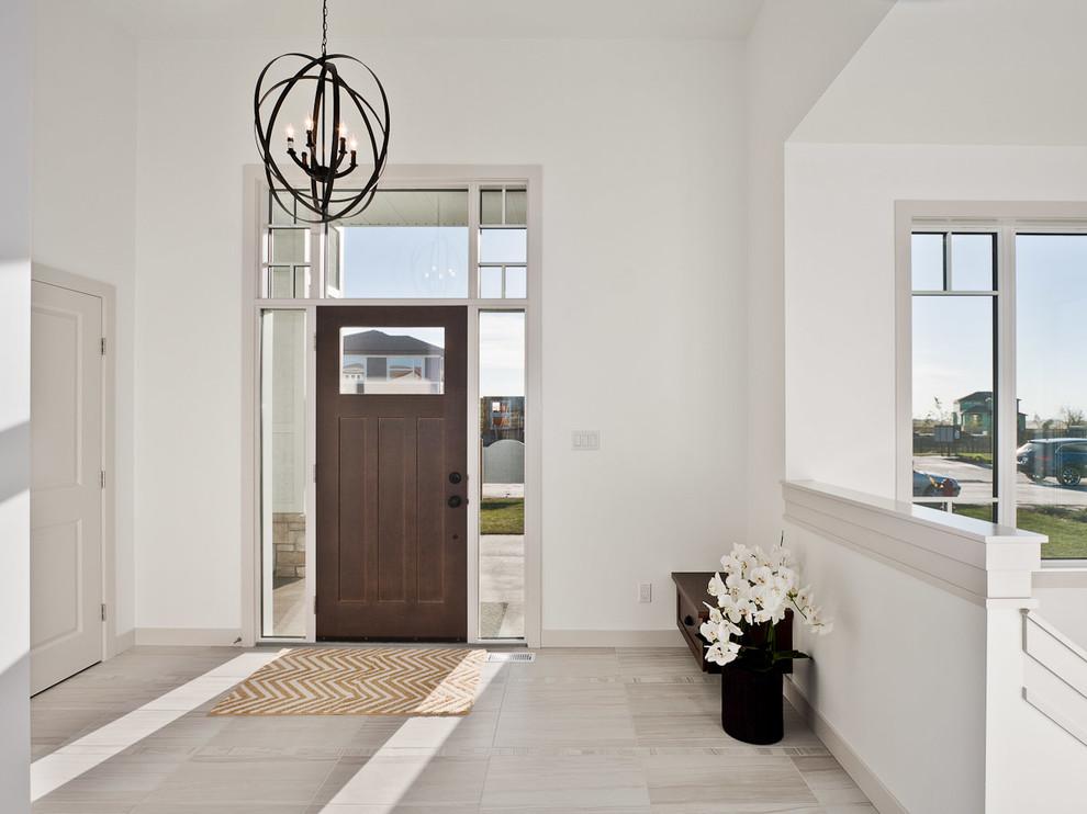 Idee per un ingresso o corridoio contemporaneo
