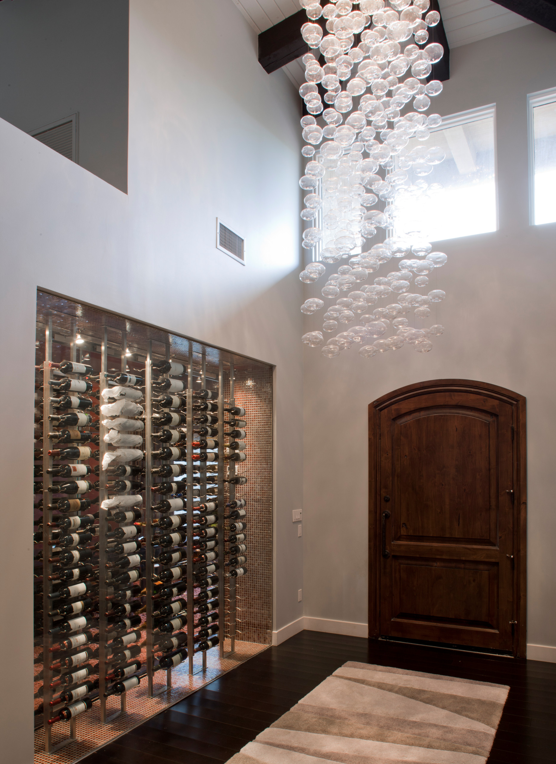 2014 FIRST PLACE WINNER * ASID AWARD - Entry & Wine Storage
