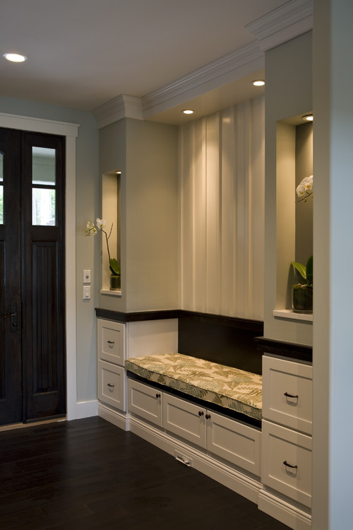 Contemporary Entry by New York Interior Designers & Decorators Shane D. Inman