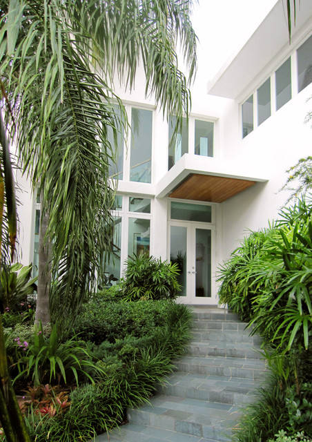 450 architects - Coral Gables Residence modern-entry