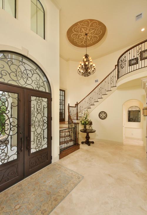 Top 15 Amazing Design Ideas Of Wrought Iron Doors Simple Home Decor