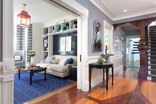 Awesome Beach Style Entry By Boston Interior Designers U0026 Decorators Rachel Reider  Interiors