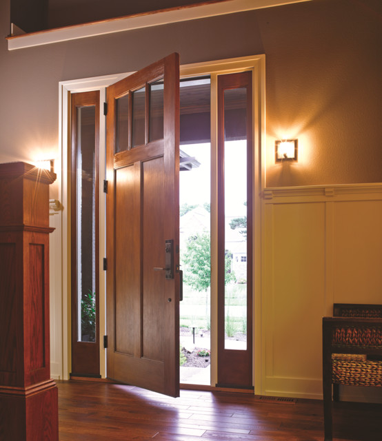 8ft classic craft american style door and sidelites for Therma tru classic craft american style collection