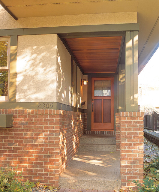 A Good Neighbor Craftsman Entry Minneapolis By