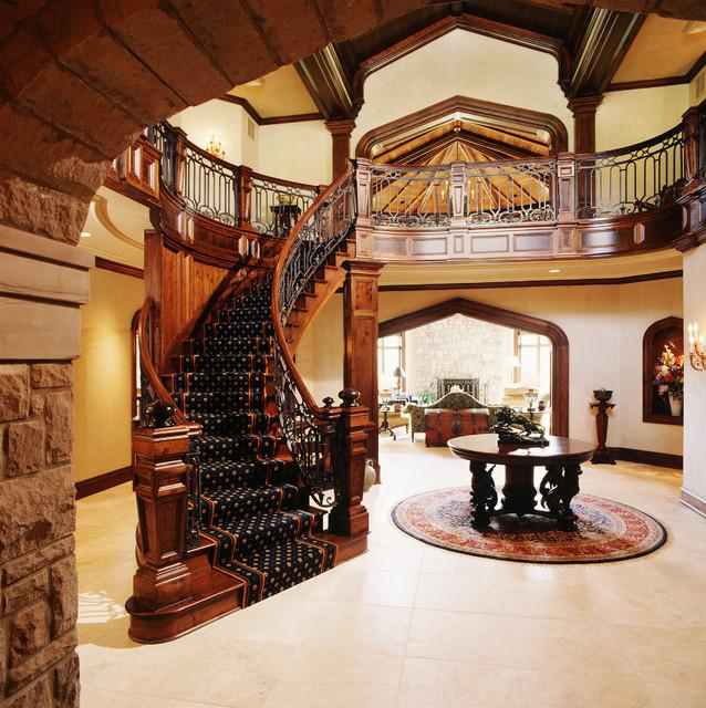 A Modern Castle Mediterranean Entry Cedar Rapids