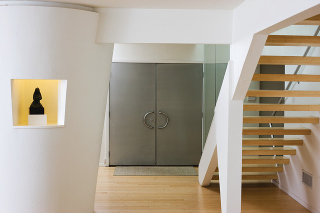 A Night and Day Remodel contemporary-entry
