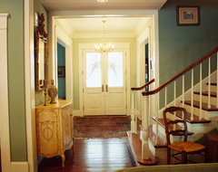 Acadian Home - Entry Hall traditional-entry