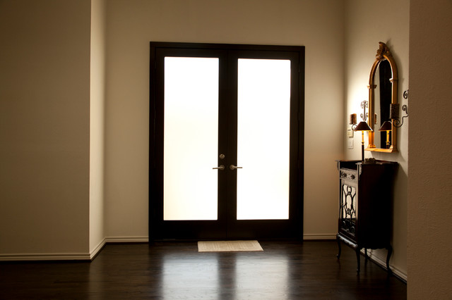 Accents contemporary-entry