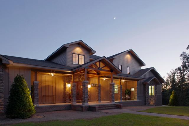 Adams Residence craftsman-entry
