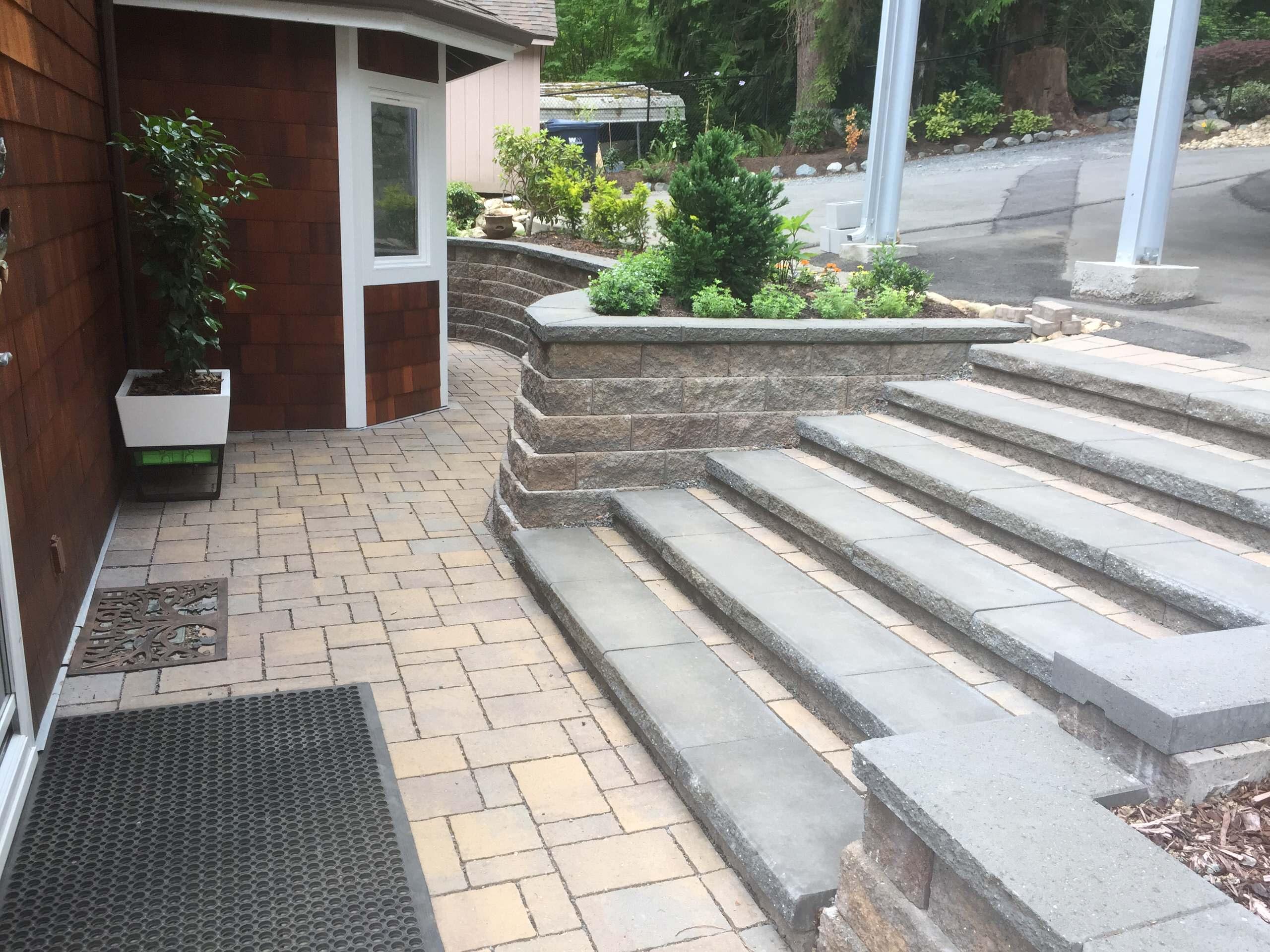 After Entry Step Renovation