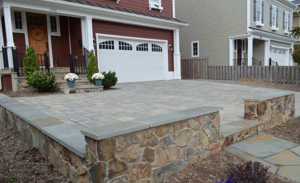 Alexandria Screened Porch & Driveway Renovation