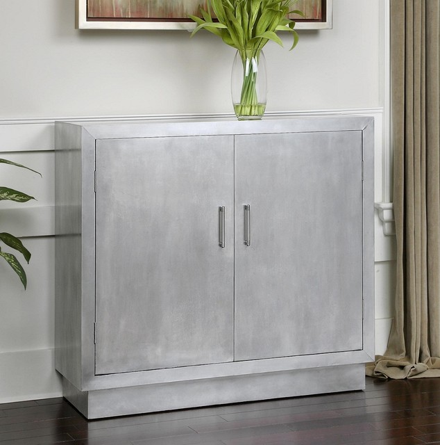 Entry Hall Cabinet aluminum hallway cabinet - contemporary - entry - huntington -