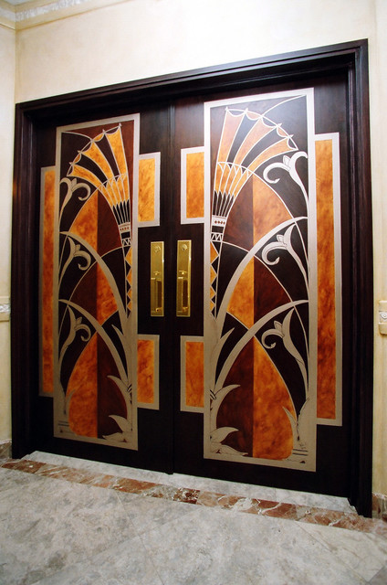 contemporary entry by Interior Styles, Inc.