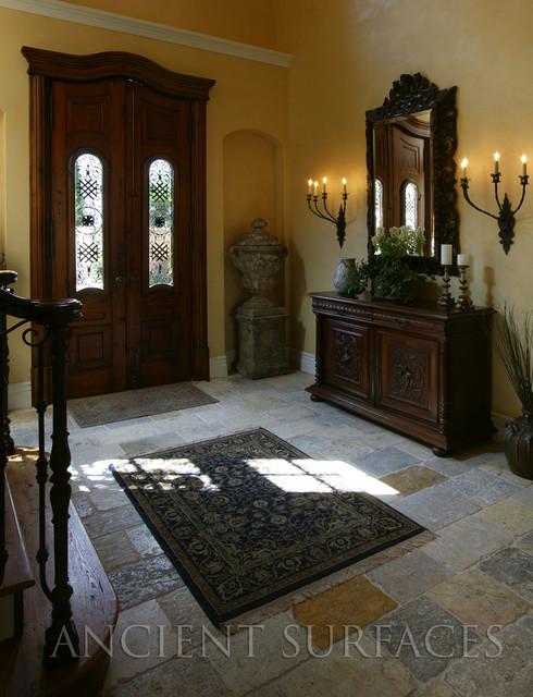 Antique Biblical Stone mediterranean-entry