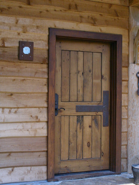 Antique Doors rustic-entry : rustic doors - pezcame.com
