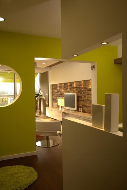 Apartment 70, New Belgrade contemporary-entry