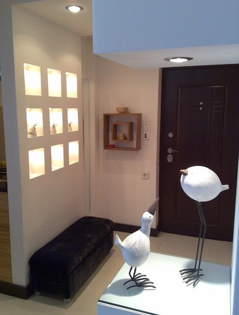Apartment downtown Belgrade 2 modern-entry
