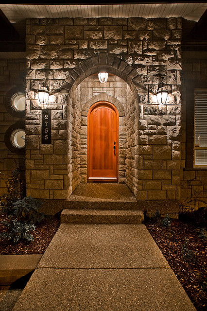 Lot 77 Front door traditional-entry