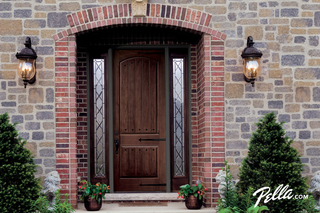 Architect Series® Fiberglass Entry Doors - Traditional - Entry ...