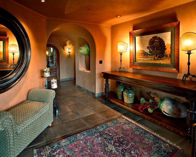 Arizona country club phoenix rustic entry phoenix for Interior designer phoenix