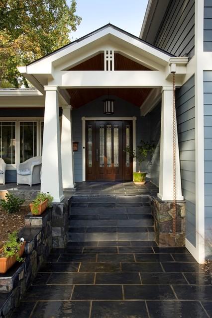 Arlington Arts Amp Crafts Home Exterior Beautifully Restored