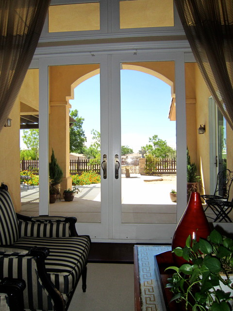 Armstrong Residence mediterranean-entry