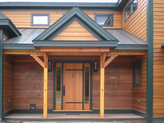 Ascutney, VT Residence traditional-entry