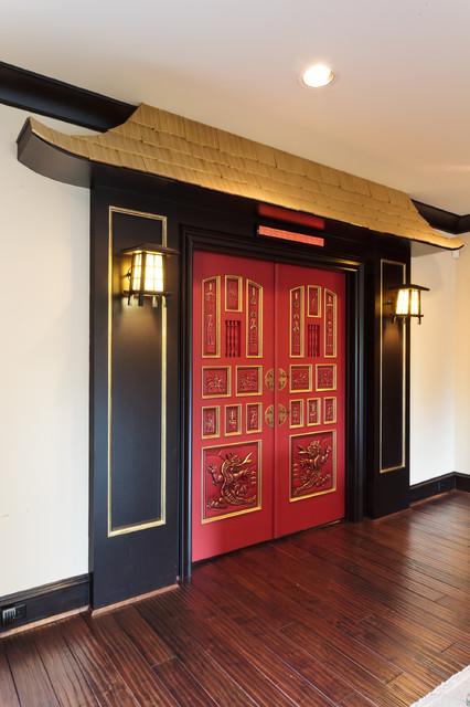Asian Themed Theater Doors