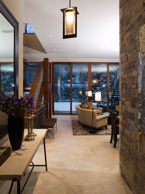 Aspen Retreat contemporary-entry