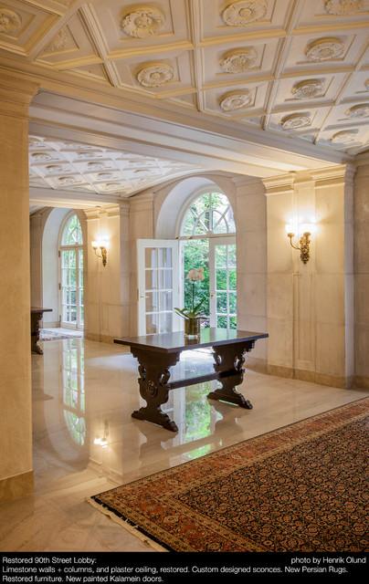 Astor Court Lobbies Restoration traditional-entry