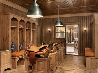Athens Ranch - Farmhouse - Entry - Austin - by Ryan Street & Associates