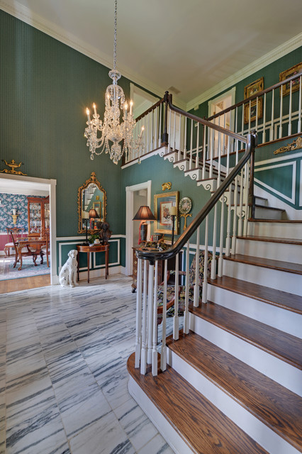 Atlanta Georgia Custom Homes Traditional Entry