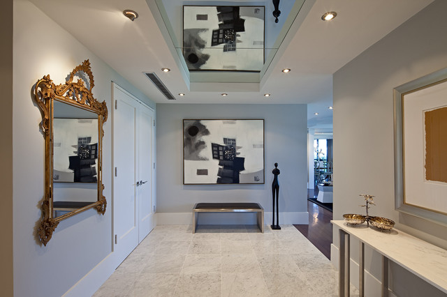 Avenue Road Condominium contemporary-entry