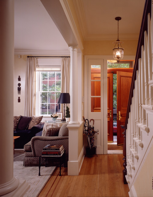 Foyer Ideas For Townhouse : Award winning greenwich village townhouse
