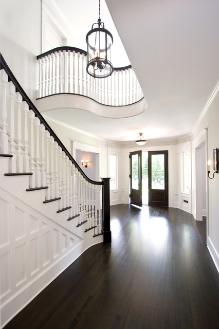 Award Winning Stair Hall and Entry Foyer traditional-entry