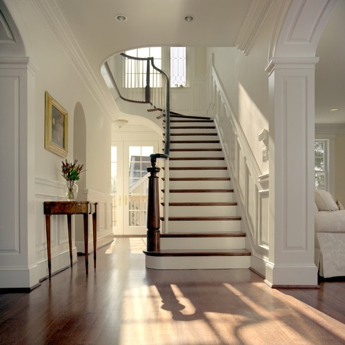 Award winning stairwell by Anthony Wilder Design/Build